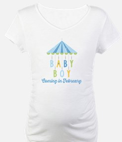 Baby Boy Due in February Shirt