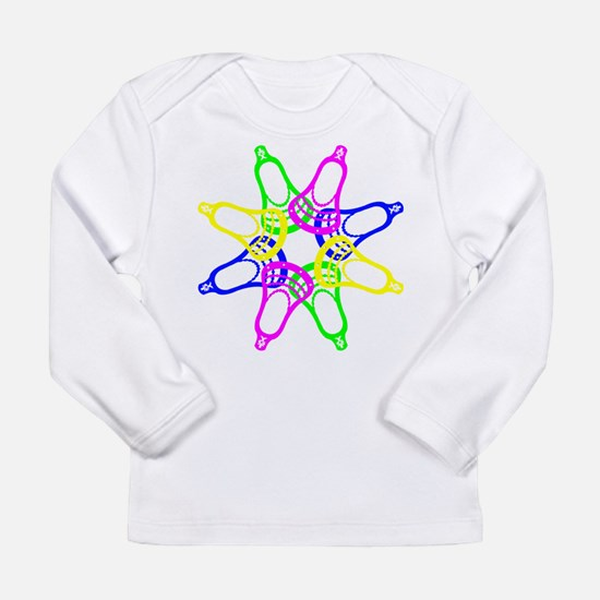 Lacrosse Neon Heads Long Sleeve T-Shirt