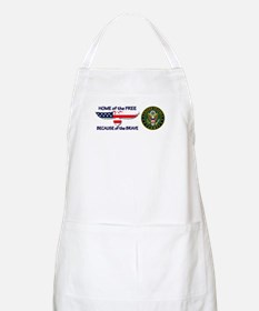 USArmy Home of the Free Apron