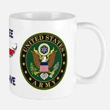 USArmy Home of the Free Mugs