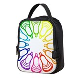 Lacrosse girls Neoprene Lunch Bag