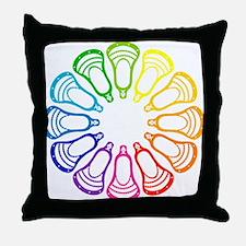 Lacrosse Spectrum Throw Pillow