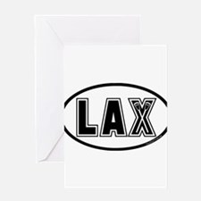 Lacrosse_Designs_Oval_600 Greeting Cards