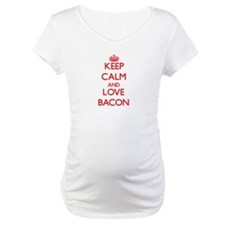 Keep calm and love Bacon Shirt