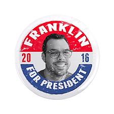 "Franklin 2016 3.5"" Button"
