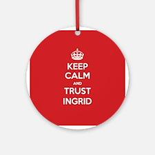 Trust Ingrid Ornament (Round)