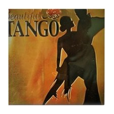 BeautifulTango Tile Coaster