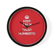 Trust Humberto Wall Clock