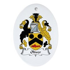 Oliver Oval Ornament