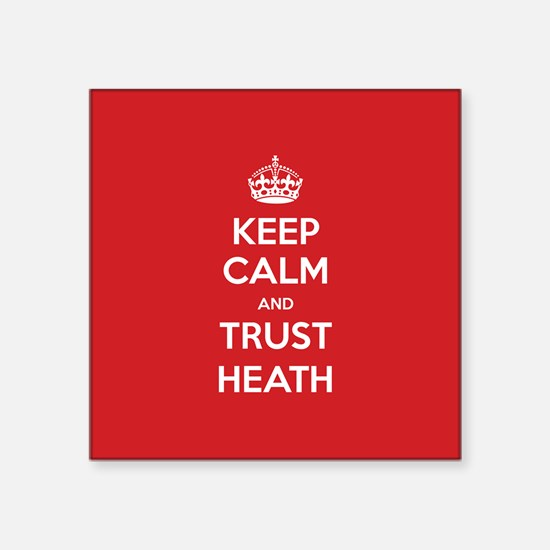 Trust Heath Sticker