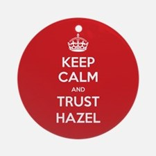 Trust Hazel Ornament (Round)