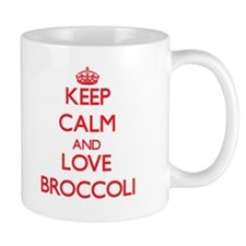 Keep calm and love Broccoli Mugs