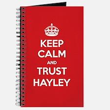 Trust Hayley Journal