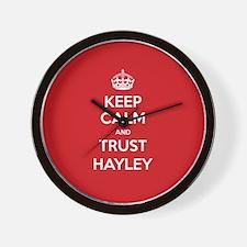 Trust Hayley Wall Clock