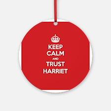 Trust Harriet Ornament (Round)