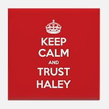 Trust Haley Tile Coaster