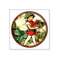 """Fairy 4 Square Sticker 3"""" x 3"""""""