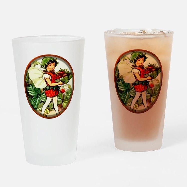 Fairy 4 Drinking Glass