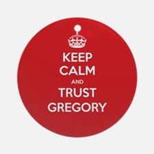 Trust Gregory Ornament (Round)