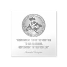 (Patriot) Government is the Problem Sticker