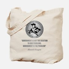 (Patriot) Government is the Problem Tote Bag