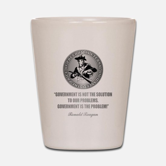 (Patriot) Government is the Problem Shot Glass