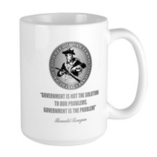 (Patriot) Government is the Problem Mugs