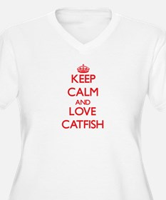 Keep calm and love Catfish Plus Size T-Shirt
