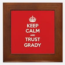 Trust Grady Framed Tile