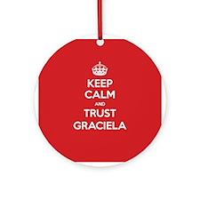 Trust Graciela Ornament (Round)