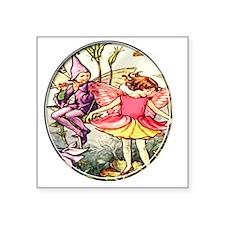 """fairy 10 Square Sticker 3"""" x 3"""""""