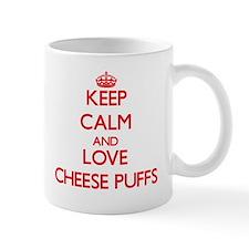 Keep calm and love Cheese Puffs Mugs