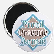 Proud Preemie Auntie Magnet