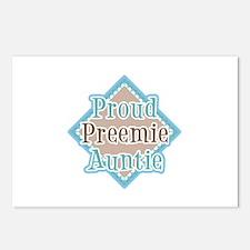 Proud Preemie Auntie Postcards (Package of 8)