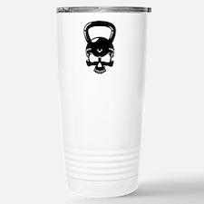 Skull Kettlebell Travel Mug
