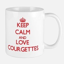 Keep calm and love Courgettes Mugs