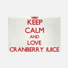 Keep calm and love Cranberry Juice Magnets