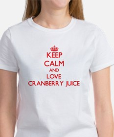 Keep calm and love Cranberry Juice T-Shirt
