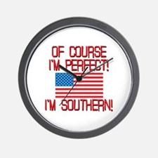 Perfect Southern Wall Clock
