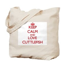 Keep calm and love Cuttlefish Tote Bag