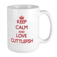 Keep calm and love Cuttlefish Mugs