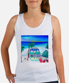Air stream Camper art Women's Tank Top