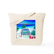 Air stream Camper art Tote Bag