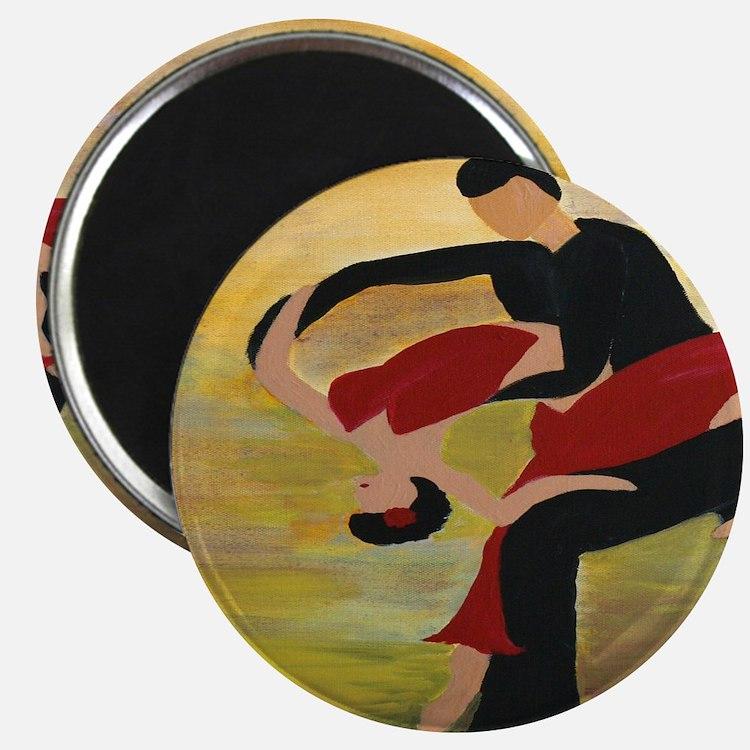 Ballroom Dancers Magnet