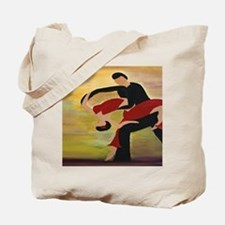 Ballroom Dancers Tote Bag
