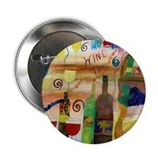 "Wine Time 2.25"" Button"