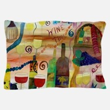 Wine Time Pillow Case