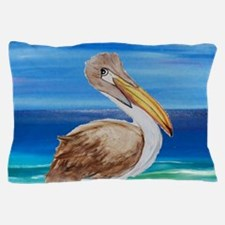 Brown Pelican Pillow Case