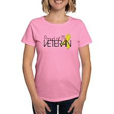 Proud of My Veteran T-Shirt