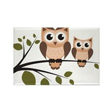 Brown Owl Duo Magnets